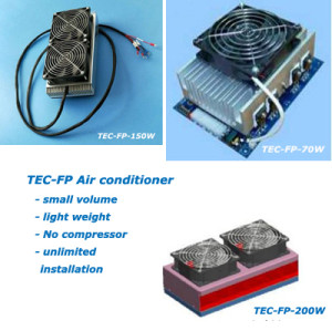 TEC-FP cabinet TEC air conditioner, FP series, thermoelectric cooler