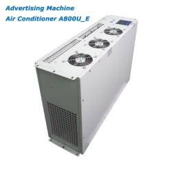 Advertising machine air conditioner, cabinet air conditioner