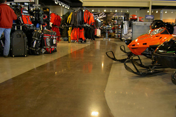NIKE Store Dense Tempered Floor Project