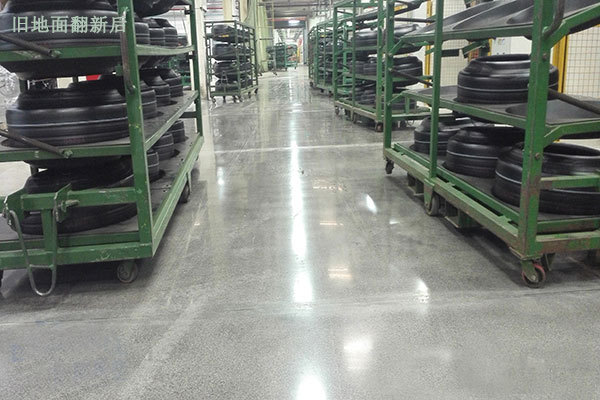 Pirelli Tire Workshop Sealed Curing Floor Project