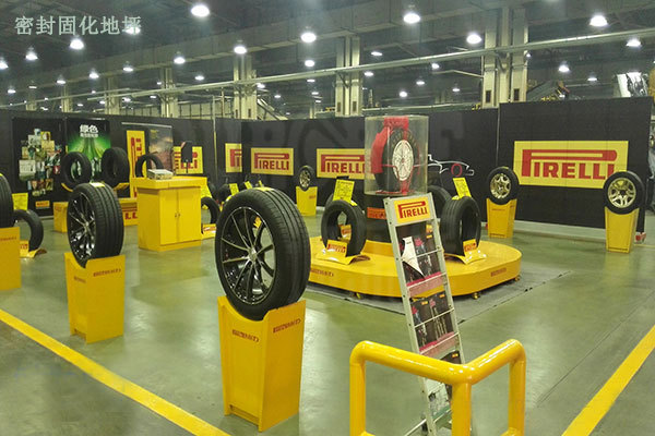 KAIDA Tire Workshop Sealed Curing Floor