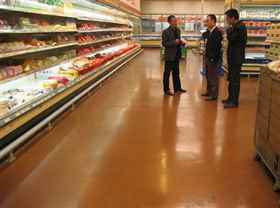 KAIDA Metro Supermarket floor Project