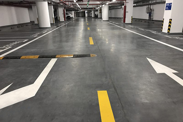 KAIDA International Dance Center Parking Floor Project