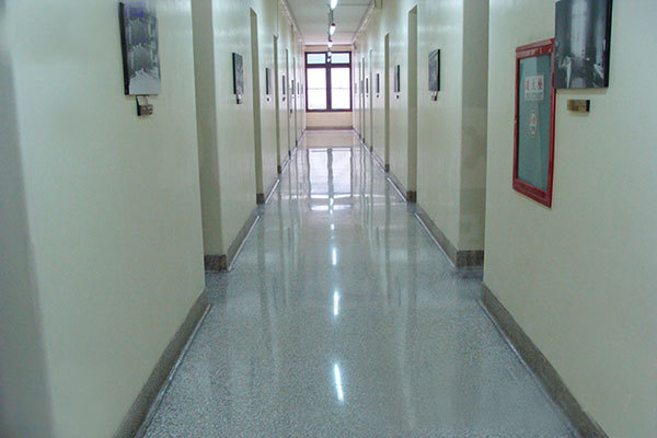 Hospital tempered floor