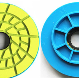 Resin Floor Polishing Pad With PVC Backing