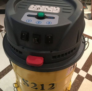 S212 Concrete Grinder Dust Vacuum Cleaner