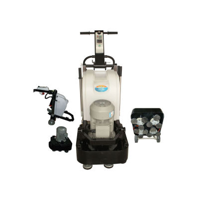 50HZ / 60HZ Fast Speed Granite Concrete Marble Floor Polisher Machine 12 Heads
