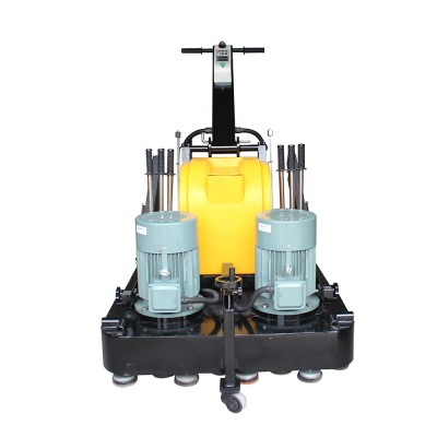 Terrazzo Floor Grinder Marble Floor Polisher 30L With Powerful Motor / Save Labor