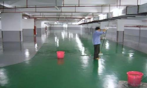 The difference between floor paint roller coating, brush coating and spray coating