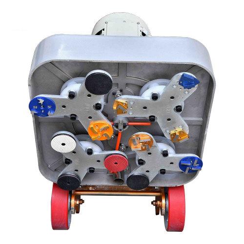 Aluminum Die Cast Concrete Floor Polisher / Grinder 7.5KW 750MM 220V-440V