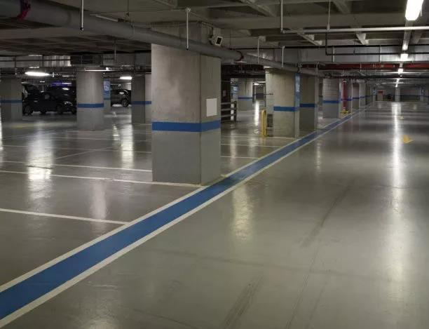 Ground conditions for floor paint construction