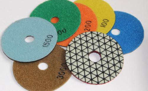 Triangle Dry Polishing Pads