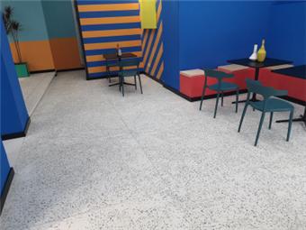 Terrazzo Floor Hardening Project