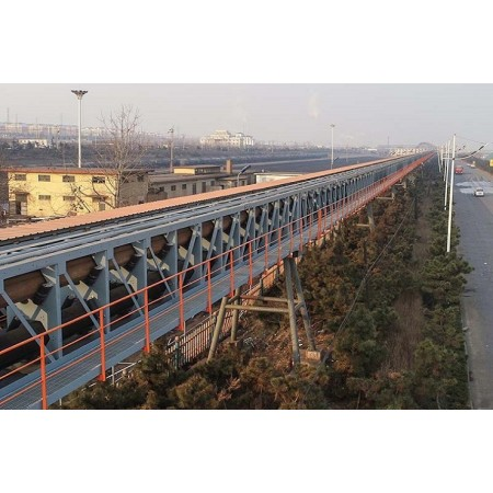 Solución de cinta transportadora fija DT75 que utiliza minas, materiales de construcción, carbón y centrales eléctricas.