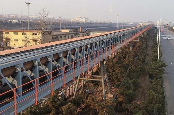 DT75 решение с фиксированным ленточным конвейером, использующее в шахтах, строительных материалах угля, электростанции