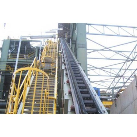 China brand Steep Inclined Belt Conveyor System/ Large Angle Conveyor/Large inclined  belt conveyor