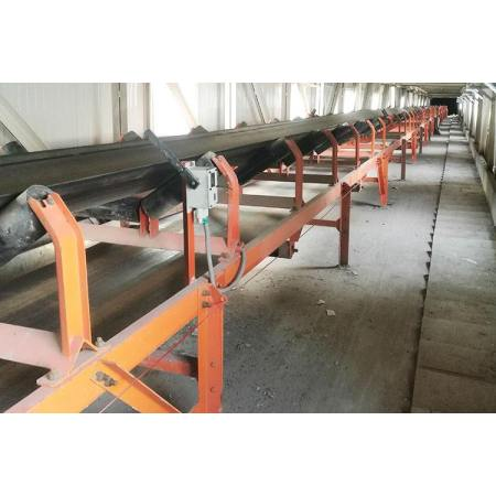 DTII نوع ناقل الحزام الثابت المستخدم في المعادن ، المناجم ، الفحم ، محطة توليد الكهرباء ، مواد البناء