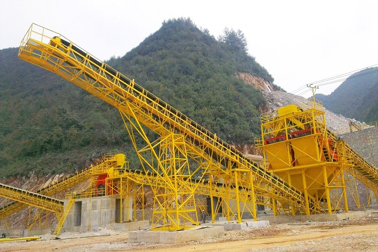 crushing plant conveyor