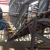 تم تشغيل ناقل حزام مائل كبير بنجاح في مقاطعة Qinghai ، الصين