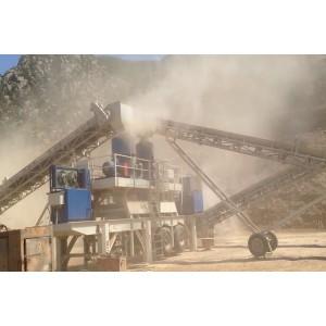 Transportador móvil utilizado para cantera de trituración de piedra