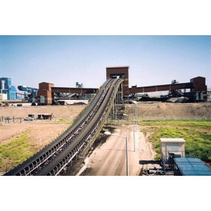 DT75 fixed Belt Conveyor solution using in mines, building materials, coal, power station