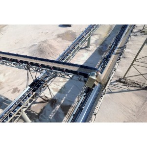 DTII Type Fixed Belt Conveyor used in metallurgy, mines, coal, power station, building materials
