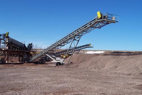 KY Gravel Coal Rocks شعاعي الحزام الناقل SKE الصين الصانع