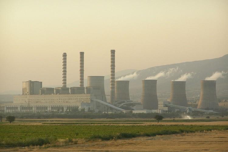 Power plant conveyor system