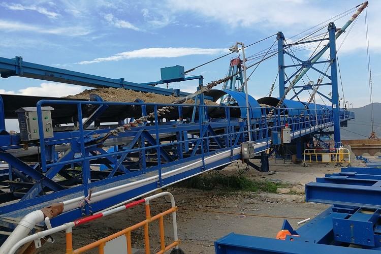 Port Reclaim conveyor system