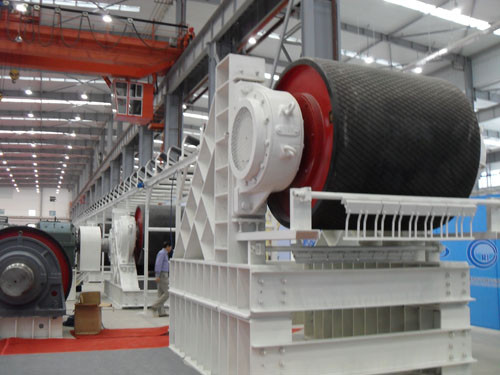belt conveyor drive pulley