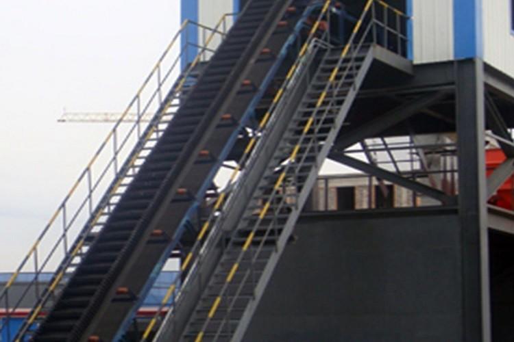 fabricante de cintas transportadoras de gran ángulo