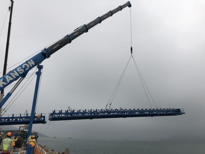 SKE belt conveyor in Hongkong