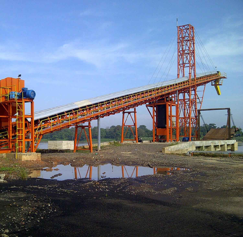 transportador de carga de buques dispositivo tensor de recogida