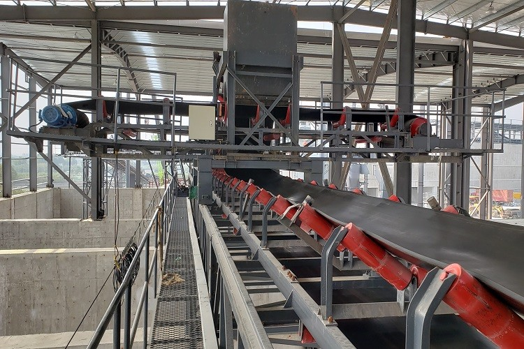belt conveyor non-load run test