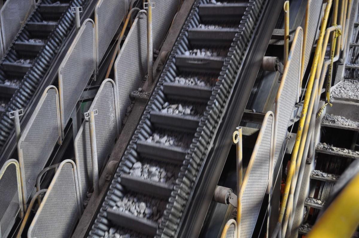 SKE large inclined belt conveyor