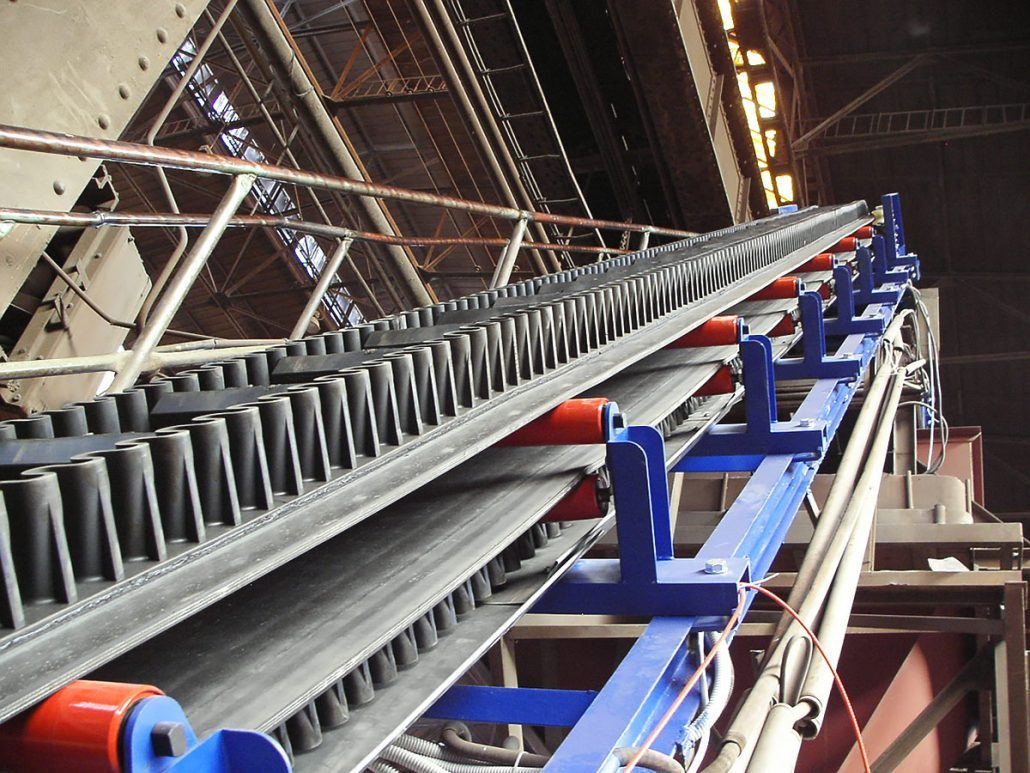 large angle belt conveyor supplier