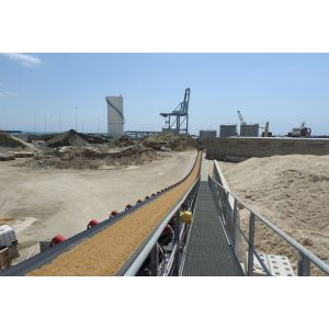 نظام الناقل البري KL لتعدين كيماويات المحاجر وصناعة الحبوب