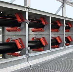 Ленточный конвейер KP для транспортировки на большие расстояния