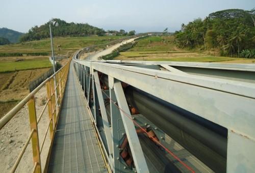 نظام ناقل حزام الأنابيب KP للنقل لمسافات طويلة