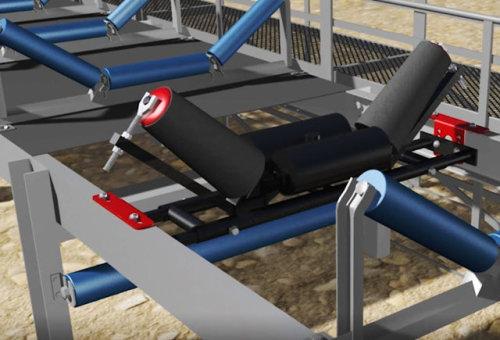 الحزام الناقل للحمل العاطل أو صناعات التعدين ، مصنع الصلب ، مصنع الأسمنت ، محطة توليد الكهرباء