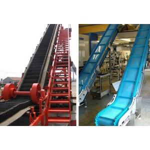 KS Large Conveying Capacity Inclined Corrugated Sidewall Belt Conveyor
