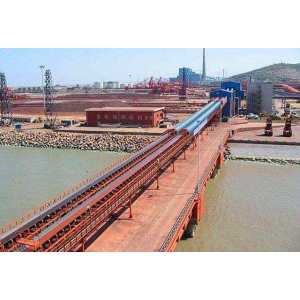 Large Carrying Capacity DTⅡ Type Belt Conveyor used in Mining, Port, Thermal Power Station