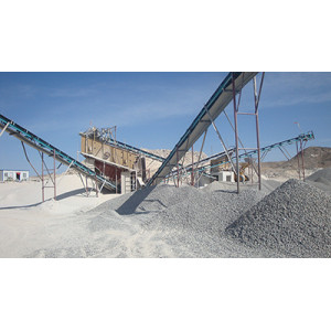 Fixed/Portable Radial Telescopic Stacking Belt Conveyor For Aggregate Crushing Plant