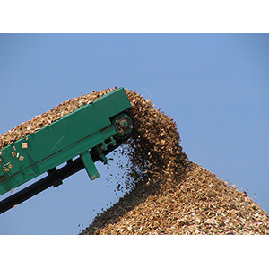 Wood Chips Stockpiling Belt Conveyors ued in Pulpwood Logs Crushing Plant