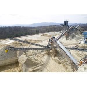 In-Plant Gravel Belt Conveyor Systems for Gravel Production