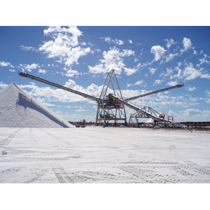 Salt Belt Conveyor used in Mining And Processing Plant