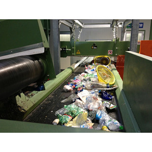 Garbage Trash Belt Conveyor for Recycling Processing Plant