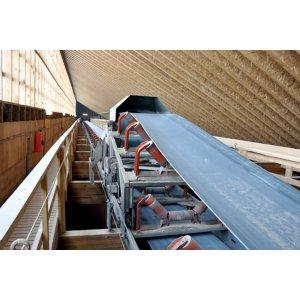 Rail-mounted Tripper Conveyor System for Stockpiling Bulk Materials