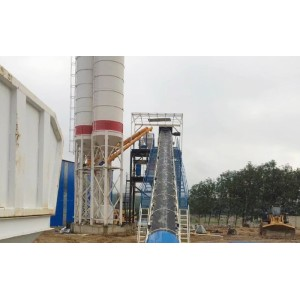 Belt Conveyor In Mixing Station for Aggregate Concrete