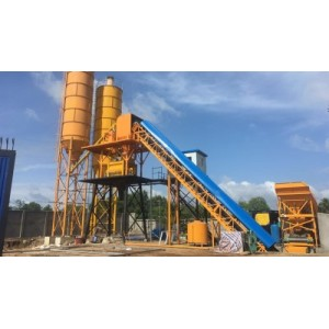 Belt Conveyor In Mixing Station for Stockpiling Aggregate